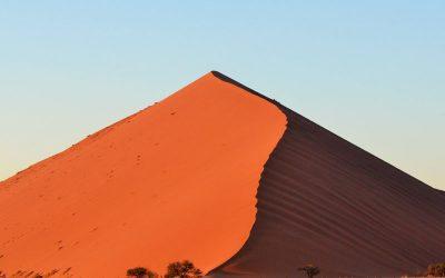 The Namib Desert: Sossusvlei or rather Dead Vlei